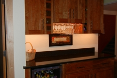 Cherry Home Bar Cabinets