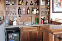 Walnut  Home Bar