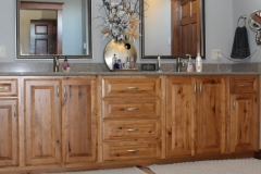 Hickory bathroom cabinets