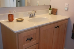 Maple Bathroom Vanity