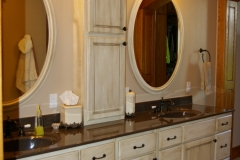 Paint and Glaze Double Bath Vanity