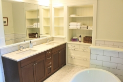 Master Bath Cabinetry Paint and Oak