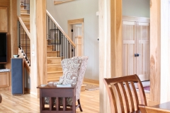 Hickory Trim Millwork Beams Columns