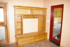 Oak Mudroom Locker