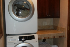 Cherry Laundry Cabinetry
