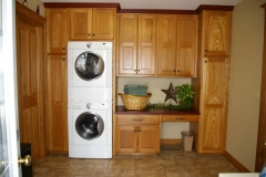 Red Elm Laundry Cabinetry